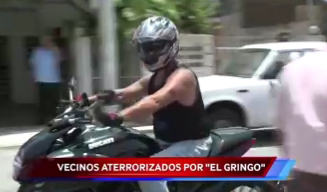 Garcia Gineres residents terrified by El Gringo
