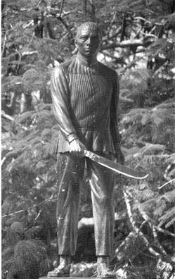 Monument to Jacinto Pat, Tihosuco (Image: Revista 35 milímetros, WordPress.com)