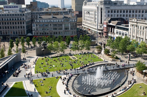 Piccadilly Gardens - credit Marketing Manchester