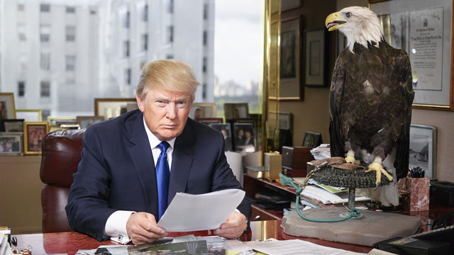 donald_trump_time_magazine_ trump poses for 'time' magazine with bald eagle! the yucatan times