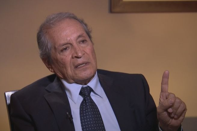 Joaquín Guzman's lawyer, Juan Pablo Badillo. (Photo: Univision)