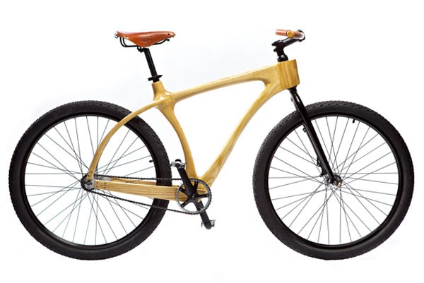 BICIWOOD: An intelligent bicycle made from wood (Photo: Mexico News Daily)