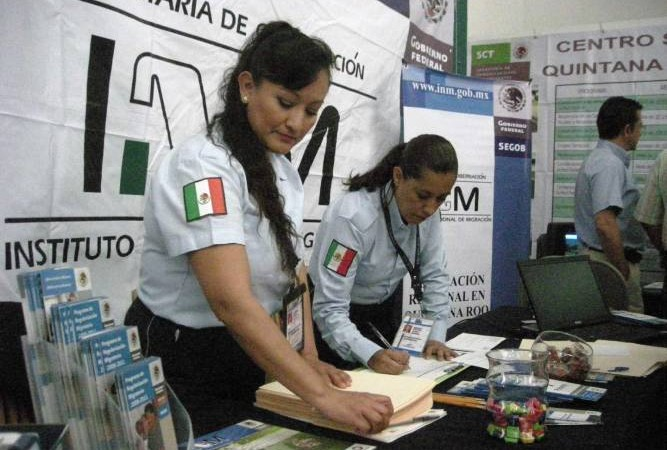 INM will attempt to legalize the status of 10,000 immigrants in 2017. (Photo: Riviera Maya News)