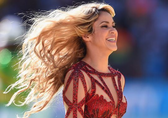 Shakira performs in July 2014 in Rio de Janeiro, Brazil. (Photo: Matthias Hangst, Getty Images)