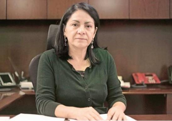 Patricia Bugarín Gutiérrez, Commissioner of the CONASE (El Universal)
