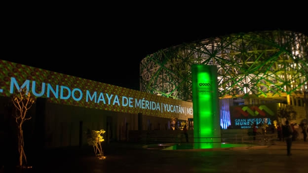 Merida's Maya Museum has been nominated for a prestigious international award. (Photo: Google)