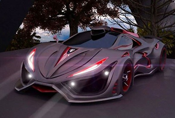 The Inferno Exotic Car: Designed in Mexico (Photo: Mexico News Daily)