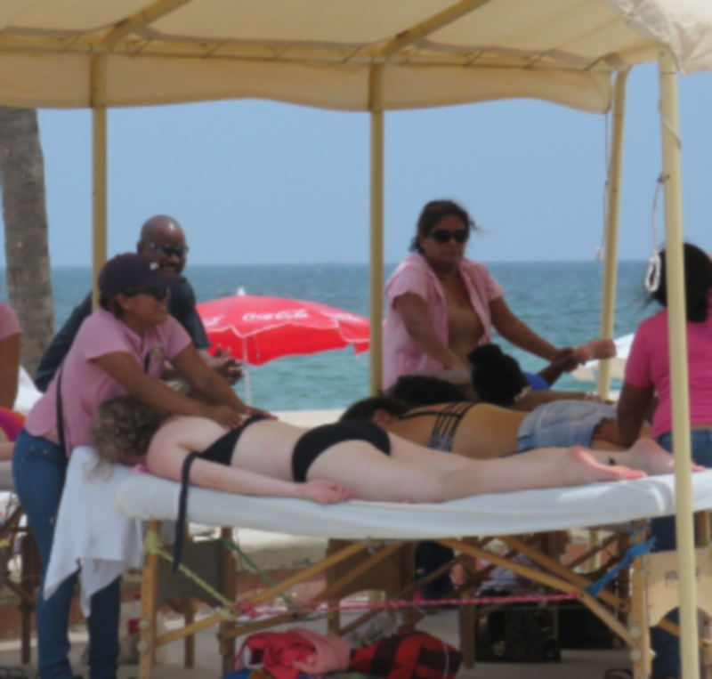 Photo: Diario de Yucatan Massages in Progreso