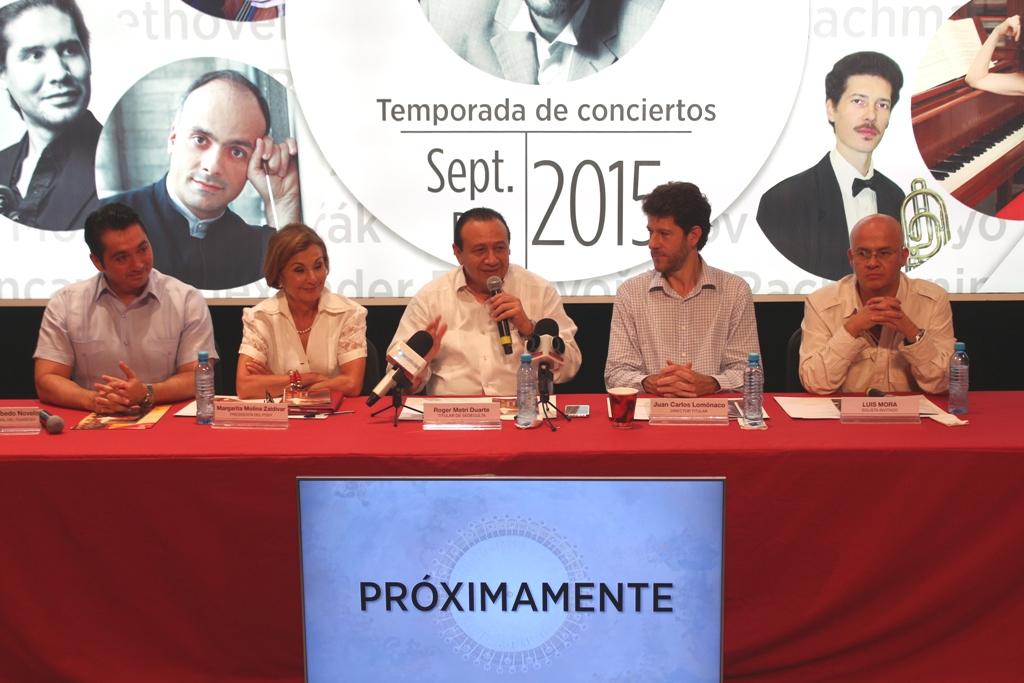 Yucatan Symphony Orchestra press conference