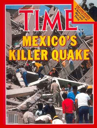 Cover of TIME Magazine Sept. 1985 (Photo: Google)