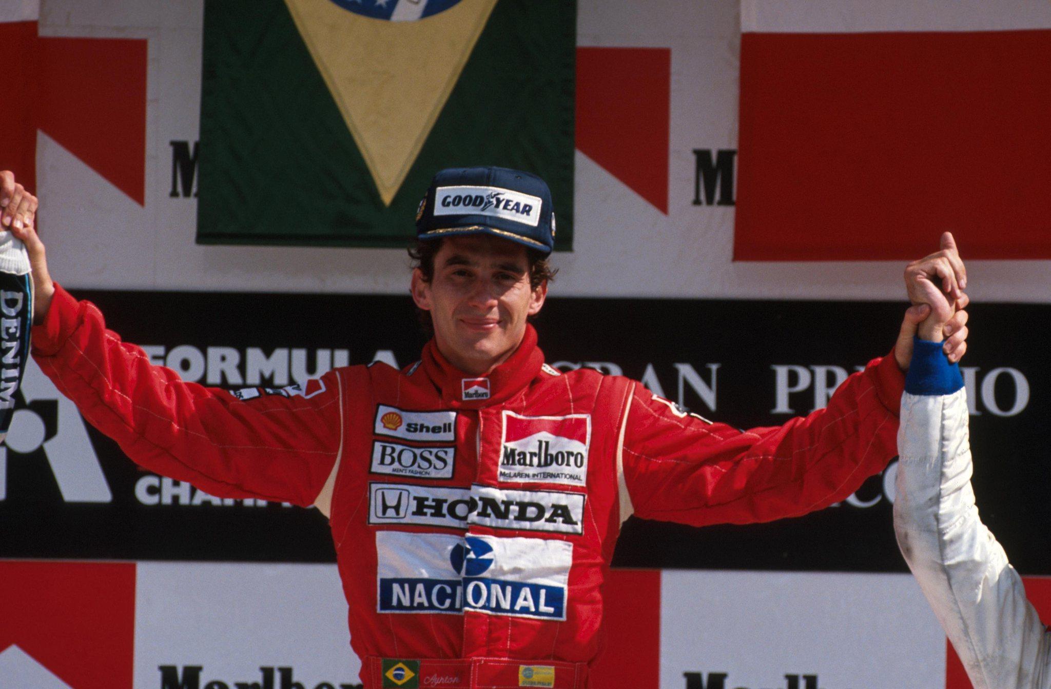 Ayrton Senna won the 1989 Mexican Grand Prix (Photo: taringa.net)