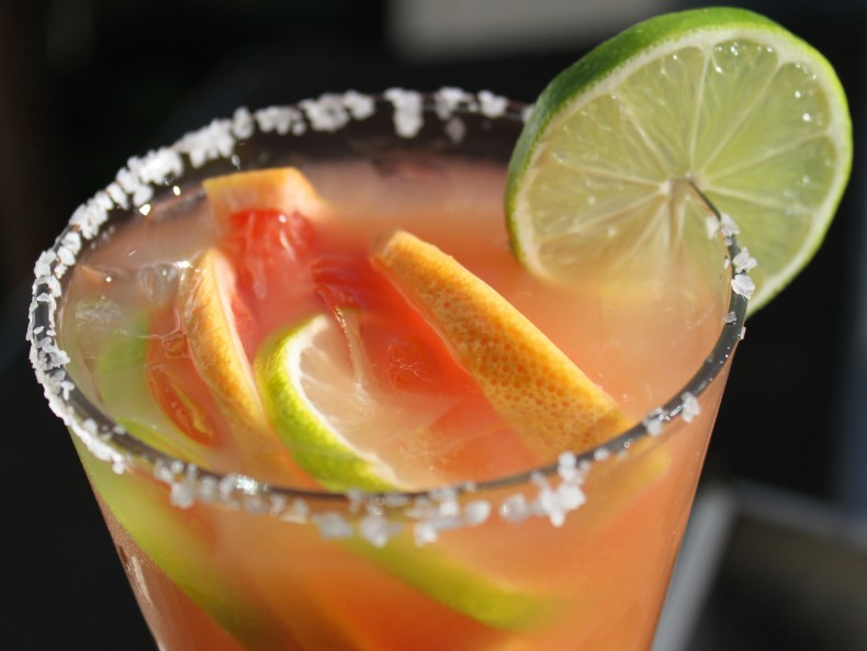 If your taste buds can't handle the heat then you could still follow this recipe for fresh margaritas (Photo: habanerosocial.com)