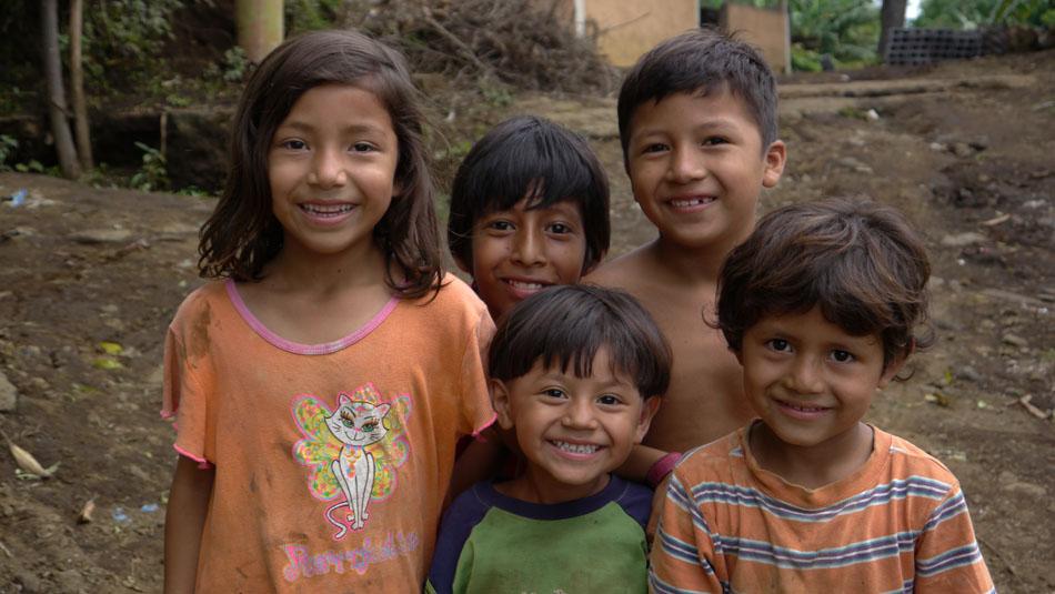 Kids in Nicaragua (Google)