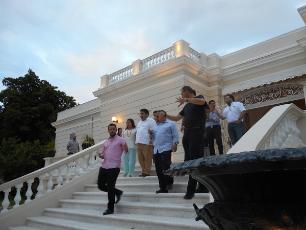 arch carmona steps