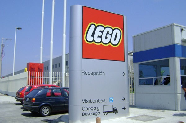 LEGO's plant in Nuevo León. (Photo: Mexico News Daily)