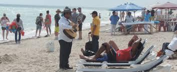 Beach at Progreso, Yucatan (Photo: Diario de Yucatan)