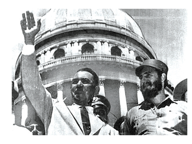 Fidel Castro and Lazaro Cardenas in La Habana 1961 (Photo: Google)