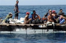 Photo: zocalo.com.mx More than 150 Cuban rafters have arrived in Yucatan in 2014-15.