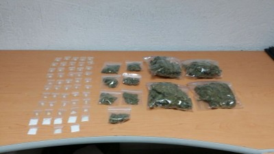 Photo: informativoturquesa.com Drugs confiscated in Valladolid.