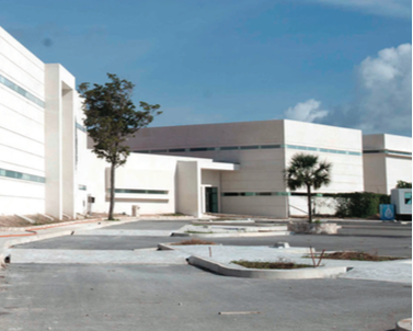 Photo: thenews.mx Cancun's new general hospital is set to open in February 2016.