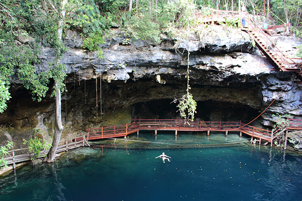 Ek Balam Cenote