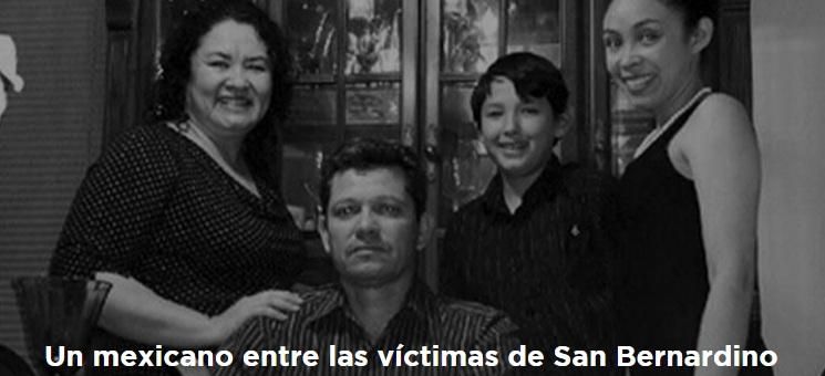 Mexican killed in San Bernardino shooting (Photo: lopezdoriga.com)