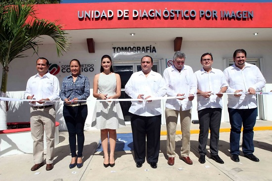 New CT Scan Unit inaugurted at General Hospital of Chetumal (Photo: jorgecastronoriega.com)