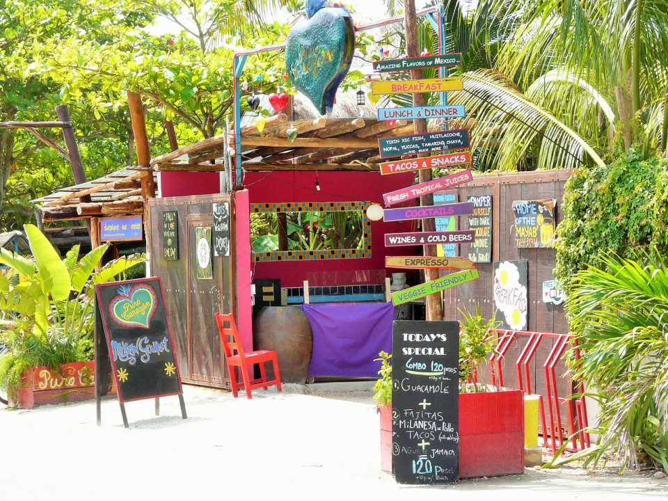 Small cafe on the Beach Road in Tulum (cleveland.com)