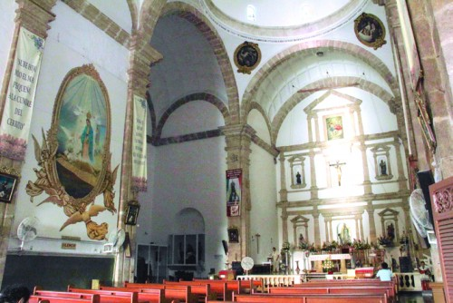 Photo: SIPSE.com San Cristobal church in Merida is focus of celebrations of Virgin of Guadalupe.