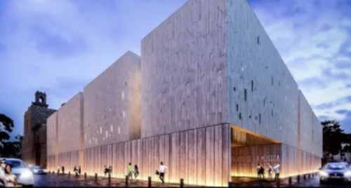 Photo: Yucatanexpatlife.com Rendering of the proposed Palace of Music.