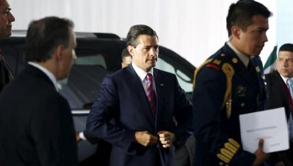 Mexican President Enrique Peña Nieto. Britain has congratulated Mexico for reducing corruption. (Photo: Reuters)