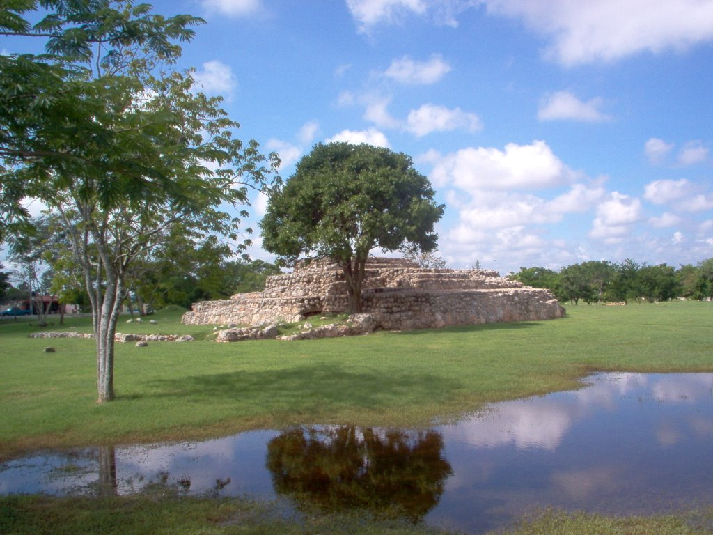 Archaeological site of Chen Ho in Merida Yucatan (Photo: Google)