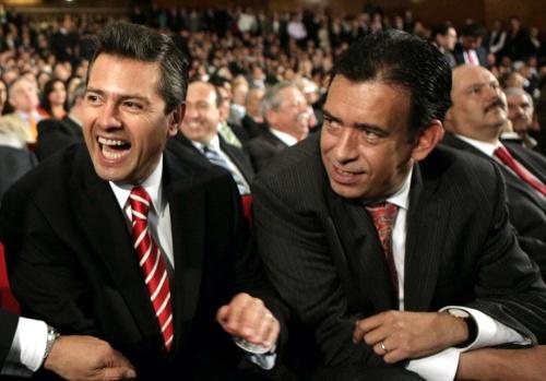 Enrique Peña Nieto and Humberto Moreira in Cohauila 2011 (Photo: Siglo de Torreón)