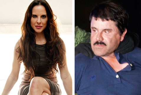 Actress Kate del Castillo was present at an interview with El Chapo Guzman. (PHOTO: Milenio.com)