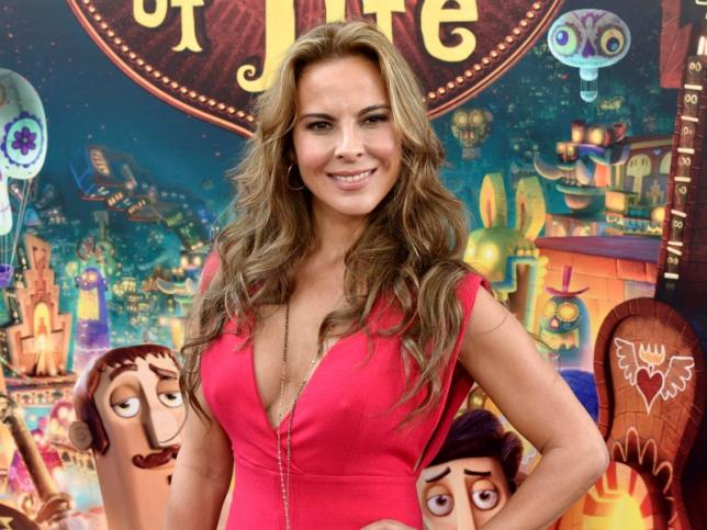 "Cast member Kate del Castillo poses during the premiere of the film ""Book of Life"" in Los Angeles, California in this file photo dated October 12, 2014. REUTERS/Kevork Djansezian"