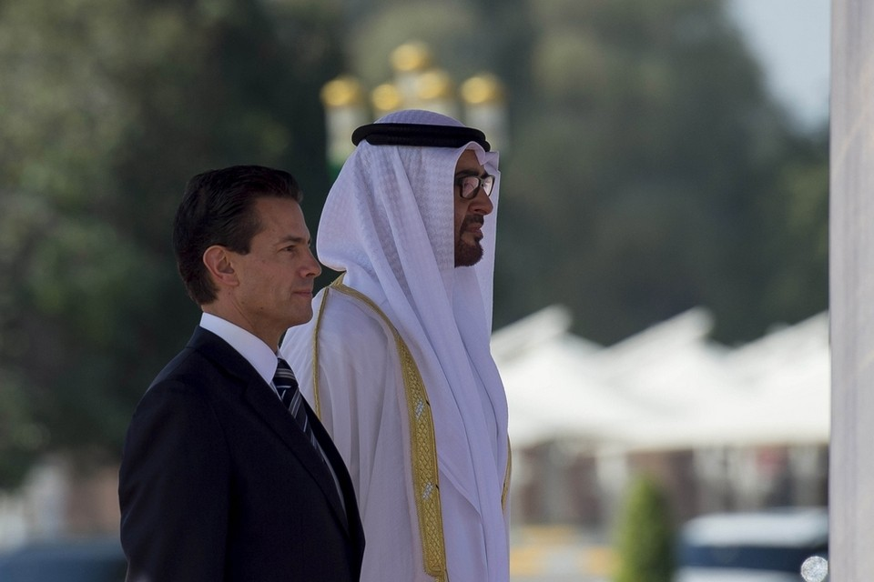 Pena Nieto and bin Zayed