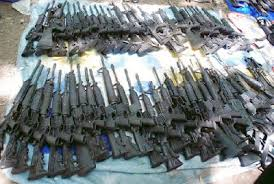 Many assault weapons find their way across the border to Mexico illegally. (PHOTO: borderlandbeat.com)