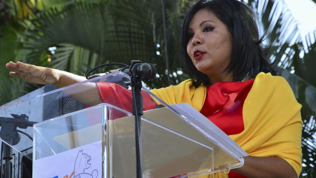The killing of newly inaugurated Mayor Mota has prompted worldwide media coverage. (PHOTO: cbsnews.com)