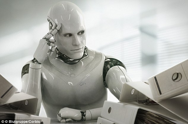 Over five million jobs will be lost by 2020 as a result of developments in genetics, artificial intelligence, robotics (Photo: Daily Mail)