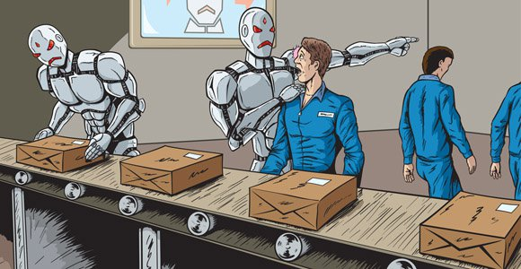 Over five million jobs will be lost by 2020 as a result of developments in genetics, artificial intelligence, robotics (Image: sgtreport.com)