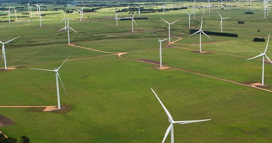 Wind power currently produced in Mexico is enough to meet the power needs of 525,000 households