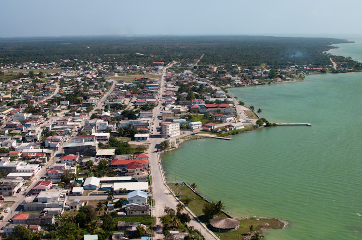 Aerial view of Corozal Town, Belize (Photo: en.wikipedia.org)