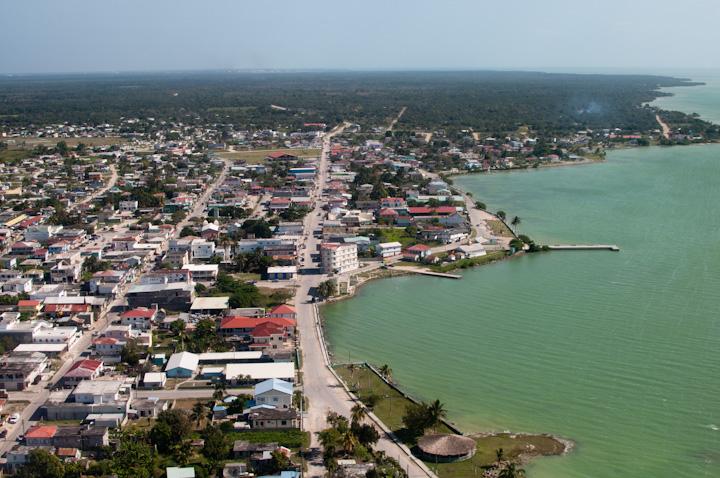 Aerial view of Corozal Town, Belize (Photo: en.wikipedia.org)