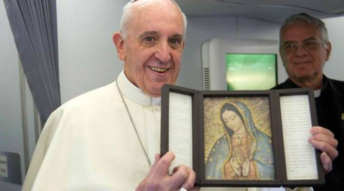 Pope Francis expressed his love for Guadalupe ( Foto: L'Osservatore Romano)