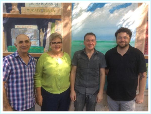 MEL's new board members (left to right) Bob Hertzig, Valerie Grimsley, Greg Casini, Brent Marsh (Photo: MEL)