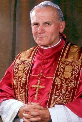 Pope John Paul II (Google)