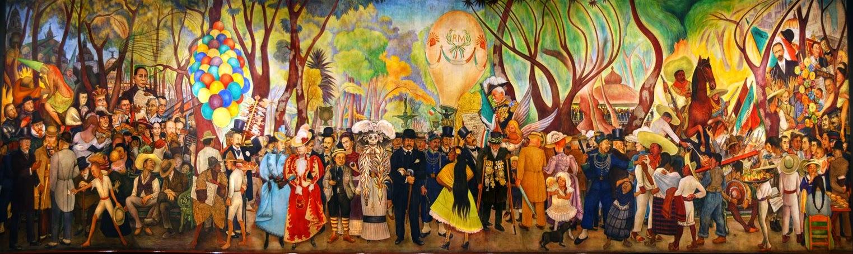 Sueño de una tarde dominical en la alameda central Diego Rivera