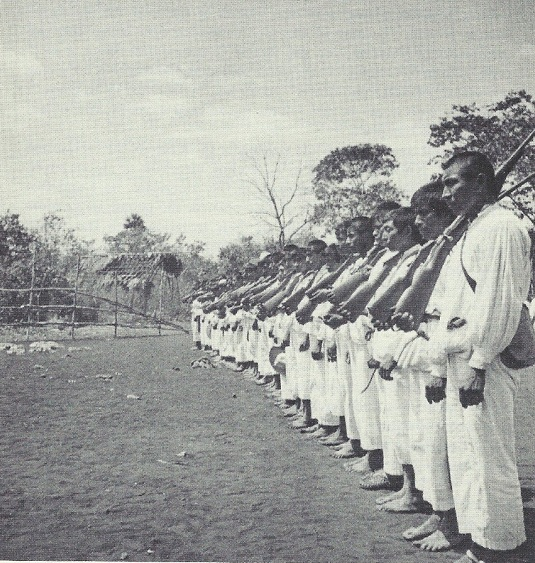 The guard at Xcacal Guardia, 1930s (Photograph by Frances Rhoads Morley, Brigham Young University)