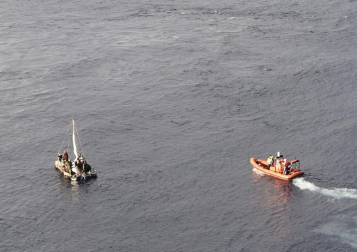 Cruise Ship Rescues 16 Cuban Migrants In Gulf of Mexico (Photo: Instagram)