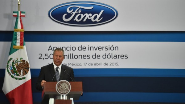 Ford is making plans to shift more producion to Mexico. (PHOTO: autoblog.com)